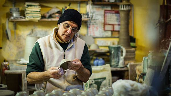 hilton court pottery